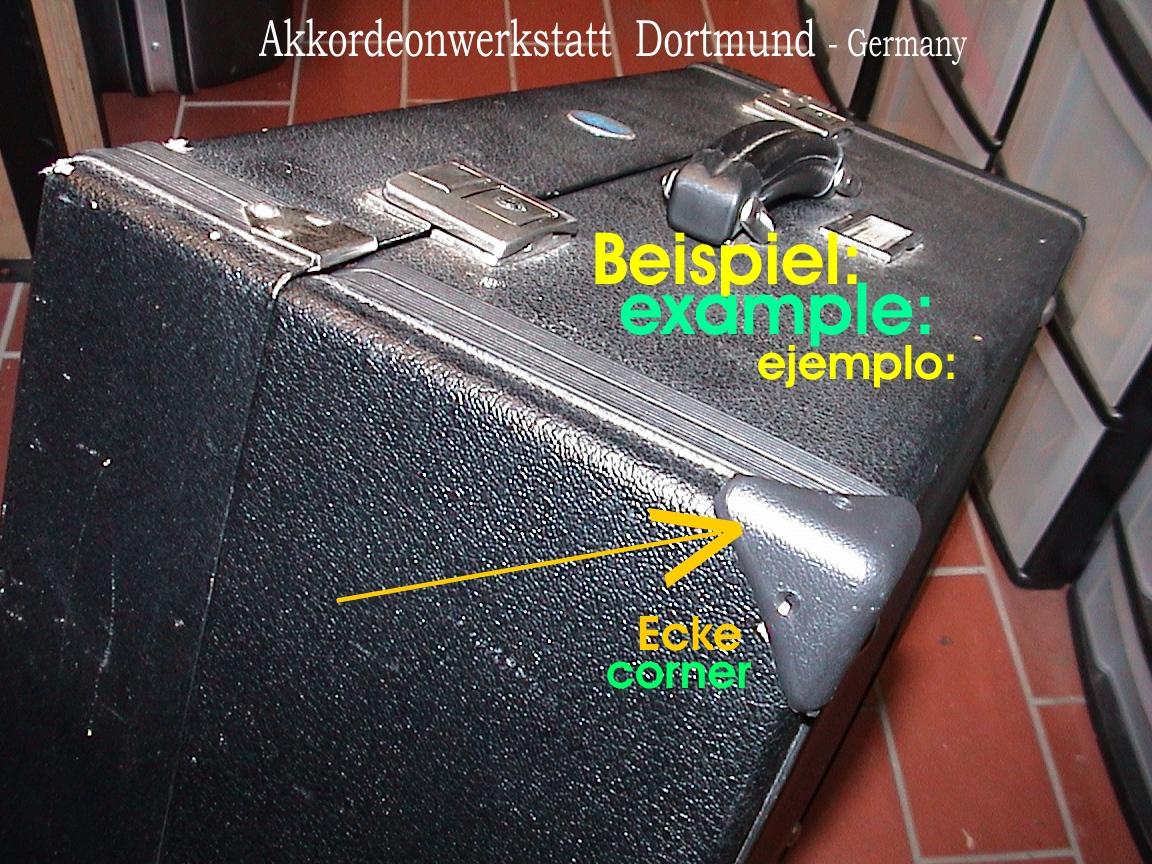 kofferecken zum reparieren